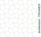 vector seamless texture. modern ...   Shutterstock .eps vector #754144879