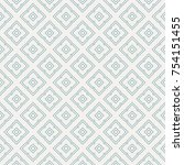 vector seamless pattern and... | Shutterstock .eps vector #754151455