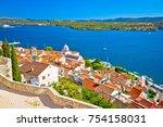 sibenik waterfront and st....   Shutterstock . vector #754158031