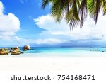 Picturesque Dream Beach With...