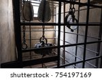 looking inside a medieval... | Shutterstock . vector #754197169