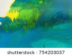 detail of the painting as a... | Shutterstock . vector #754203037