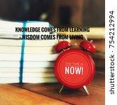 motivational and inspirational... | Shutterstock . vector #754212994