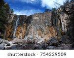 Small photo of Waterfall in Creel in Barranca del Cobre