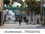 miami  fl  usa   november 11th  ... | Shutterstock . vector #754320751