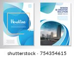 template vector design for... | Shutterstock .eps vector #754354615