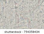 Rough Gray Concrete Surface...
