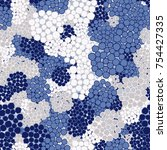 seamless texture. winter colors.... | Shutterstock .eps vector #754427335