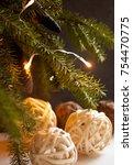 Natural Christmas Tree Branche...
