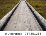 Old Wooden Bridge To Across...