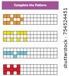 education logic game for... | Shutterstock .eps vector #754524451