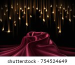 luxury style background ... | Shutterstock . vector #754524649