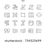 edit text well crafted pixel... | Shutterstock .eps vector #754525699