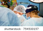surgery  medicine and people... | Shutterstock . vector #754533157