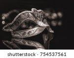 Small photo of Masquerade venitian carnival mask