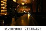 photo from speak easy bar... | Shutterstock . vector #754551874