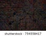 multicolor grunge background...   Shutterstock . vector #754558417
