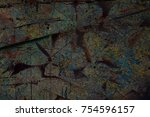 color grunge wall background.... | Shutterstock . vector #754596157