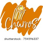 churros sweet vector | Shutterstock .eps vector #754596337
