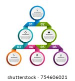 abstract options infographics... | Shutterstock .eps vector #754606021