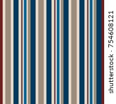 striped fabric with usa  color... | Shutterstock .eps vector #754608121