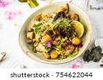 snack from seafood   mussels ... | Shutterstock . vector #754622044