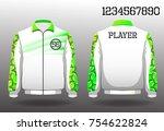 t shirt sport design front and...   Shutterstock .eps vector #754622824
