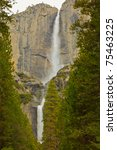 Upper And Lower Yosemite Falls...