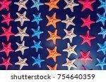 Multicolored Souvenir Starfish...