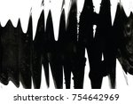 abstract ink background. marble ... | Shutterstock . vector #754642969
