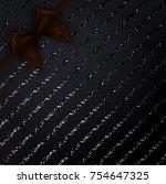 elegant vector background | Shutterstock .eps vector #754647325