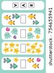 mathematics educational game... | Shutterstock .eps vector #754655941