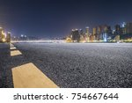 panoramic skyline and buildings ...   Shutterstock . vector #754667644
