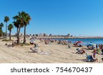 torrevieja  spain   october 20  ... | Shutterstock . vector #754670437