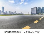 panoramic skyline and buildings ... | Shutterstock . vector #754670749