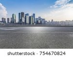 panoramic skyline and buildings ... | Shutterstock . vector #754670824