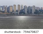 panoramic skyline and buildings ...   Shutterstock . vector #754670827