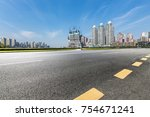 panoramic skyline and buildings ...   Shutterstock . vector #754671241