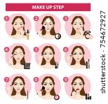 How To Make Up Step Vector...