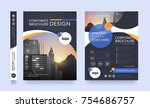 poster flyer pamphlet brochure... | Shutterstock .eps vector #754686757