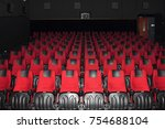 empty cinema seates | Shutterstock . vector #754688104