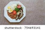 brazilian food dish | Shutterstock . vector #754693141