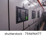 main distribution board ... | Shutterstock . vector #754696477