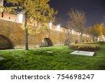 Wall In Kitay Gorod  At Night   ...
