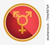 transgender symbol. neutral...   Shutterstock .eps vector #754698769