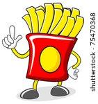 mister potato | Shutterstock .eps vector #75470368