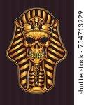 pharaoh gold shinny skull