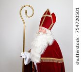 Saint Nicholas With Mitre Ans...