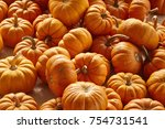 Small photo of Mini pumpkins at a farm stand in Amish Country, Lancaster County, Pennsylvania, USA
