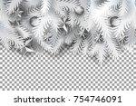 Realistic White Paper Art Cut...